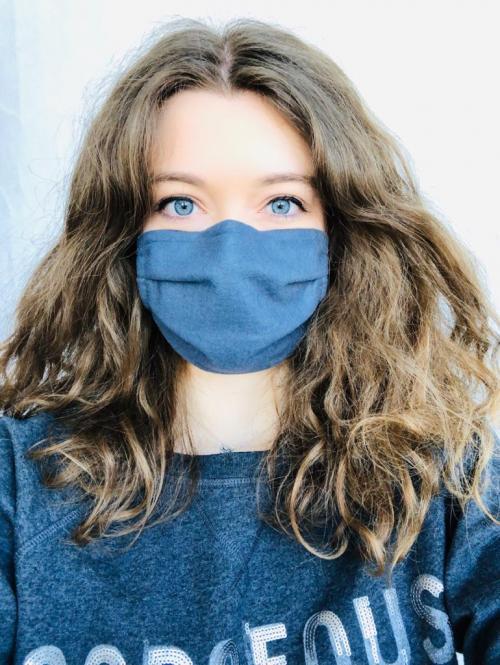 1 Stück wiederverwendbare Gesichtsmaske mit Gummiband (Premium)